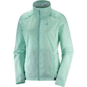 Salomon Agile Running Jacket Women turquoise